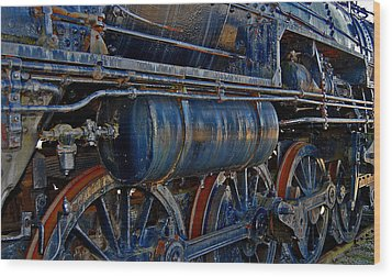 Tonnage Wood Print by Skip Willits