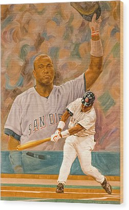 Tony Gwynn Wood Print