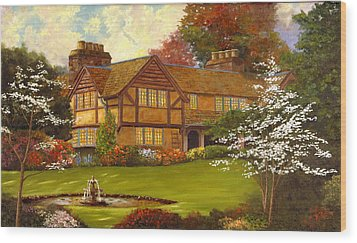 Topsmeade House Wood Print