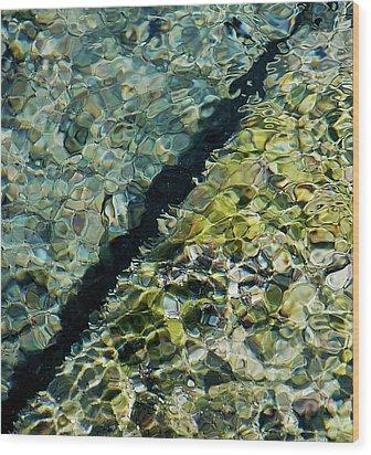Tornillo Texture Wood Print