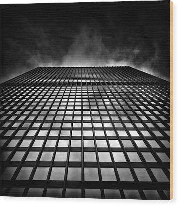Toronto Dominion Centre No 79 Wellington St W Wood Print by Brian Carson