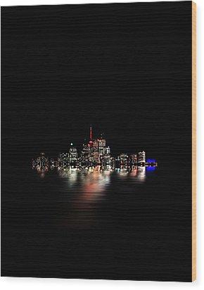 Toronto Flood No 3 My Island Wood Print by Brian Carson