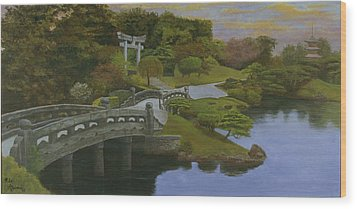 Torii Gate - Shinto Shrine Wood Print