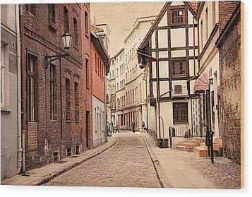 Torun Medieval Town Wood Print