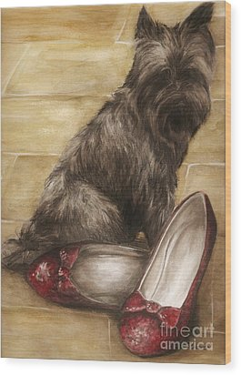 Toto Wood Print by Meagan  Visser