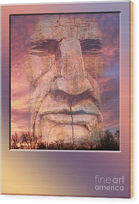Totum Sunrise Wood Print