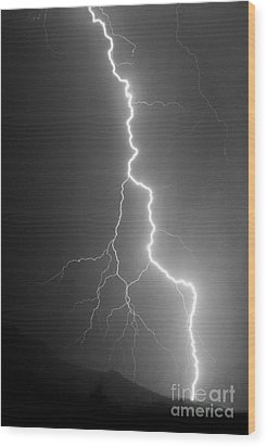 Wood Print featuring the photograph Touch And Go by J L Woody Wooden