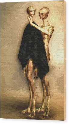 Touch Wood Print by Bob Orsillo