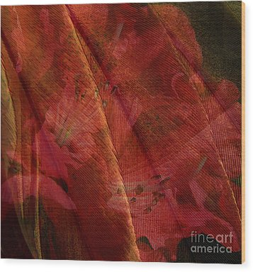 Wood Print featuring the photograph Touch Of The Orient by Liz  Alderdice