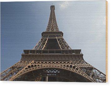 Tour Eiffel 2 Wood Print by Art Ferrier