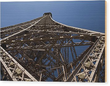 Tour Eiffel 7 Wood Print by Art Ferrier
