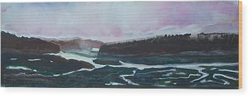 Towards Edgecomb Wood Print by Grace Keown