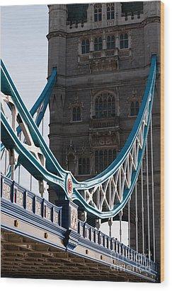Tower Bridge 03 Wood Print