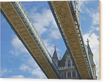Tower Bridge Wood Print by Christi Kraft