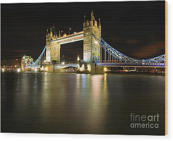 Tower Bridge London Wood Print by Mariusz Czajkowski
