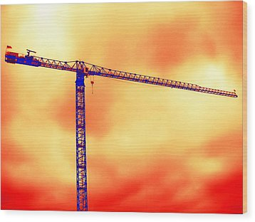 Towering 1 Wood Print by Wendy J St Christopher