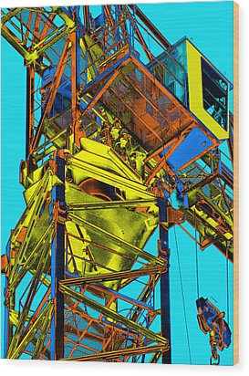 Towering 5 Wood Print by Wendy J St Christopher