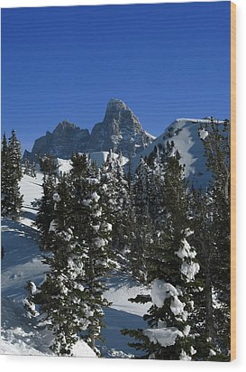 Wood Print featuring the photograph Towering Above Lies The Grand by Raymond Salani III