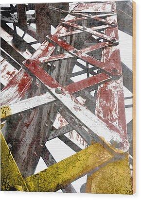 Towering High Wood Print by Davina Washington