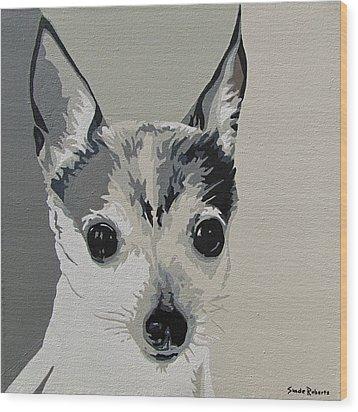 Toy Fox Terrier Wood Print by Slade Roberts
