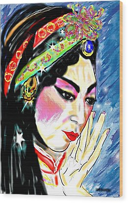 Tradition Wood Print by Desline Vitto