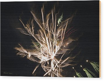 Wood Print featuring the photograph Trails by Robert Culver