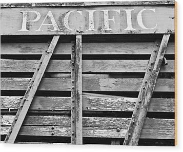 Trains 2 Wood Print