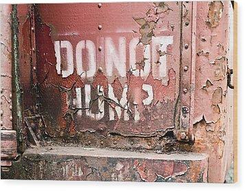 Trains 9 Wood Print