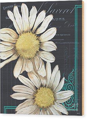 Tranquil Daisy 1 Wood Print by Debbie DeWitt
