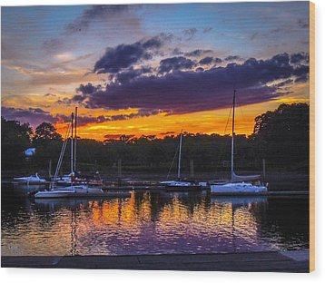 Wood Print featuring the photograph Tranquil Waters by Glenn Feron