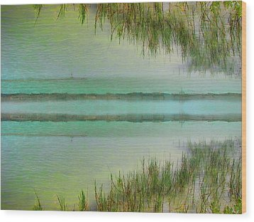 Tranquility Bay Wood Print by Wendy J St Christopher