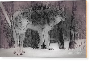 Wood Print featuring the photograph Tranquility by Bianca Nadeau