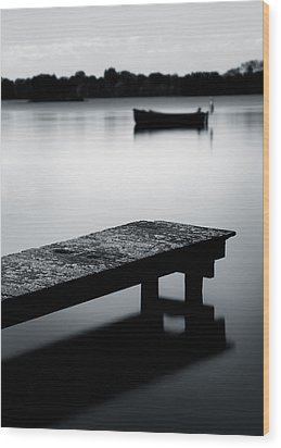 Tranquility Wood Print by Dave Bowman