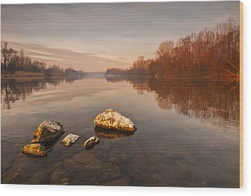 Tranquility Wood Print by Davorin Mance