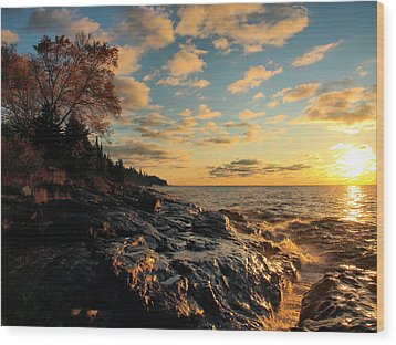 Tranquility Wood Print by James Peterson
