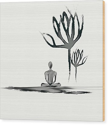 Tranquility Wood Print by Len YewHeng