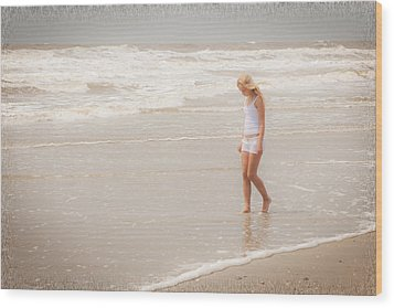 Wood Print featuring the photograph Tranquility by Sennie Pierson
