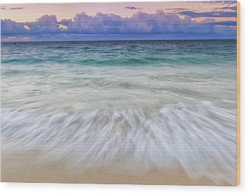 Tranquility Wood Print by Hawaii  Fine Art Photography