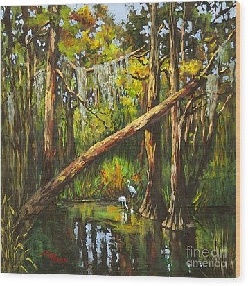 Tranquillity Wood Print by Dianne Parks