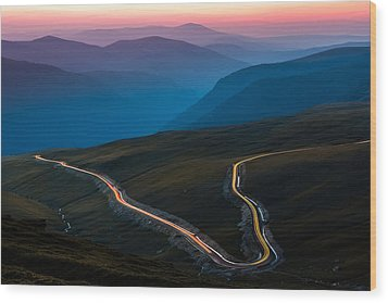 Wood Print featuring the photograph Transalpina by Mihai Andritoiu