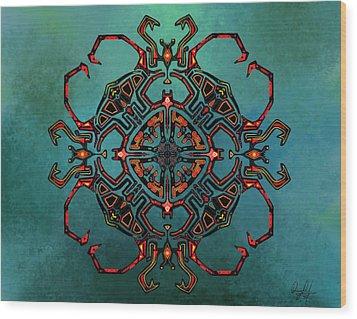 Transcrab Wood Print
