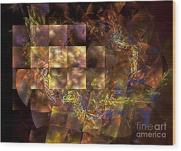 Translucence Wood Print by Olga Hamilton