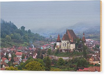 Transylvania Wood Print by Mircea Costina Photography