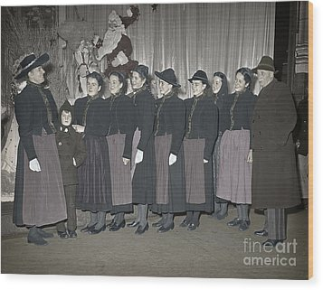Trapp Family Singers 1945 Wood Print