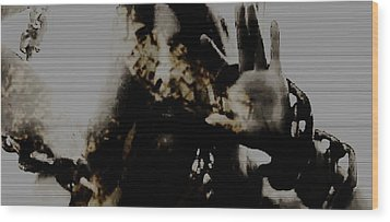 Wood Print featuring the photograph Trapped Inside by Jessica Shelton