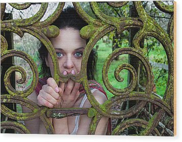 Trapped Wood Print by Semmick Photo