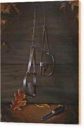 Traps Wood Print by Timothy Jones