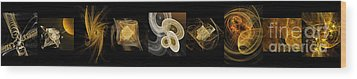 Travel In Time To 1969 Series Pano Wood Print by Andee Design