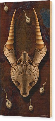 Travelers Wood Print by WB Johnston