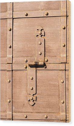 Treasure Behind - Featured 3 Wood Print by Alexander Senin